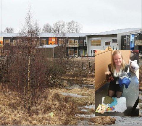 Fau-leder Monika E. Byberg håper på flere lopper til tirsdagens loppemarked i Flassabekken barnehage.