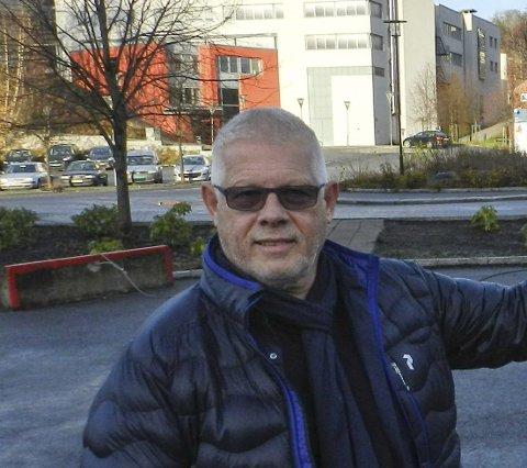 SØKERTALL: Rektor Arild Rød mener de første søkertallene ikke er viktige da tallene erfaringsmessig alltid endrer seg.