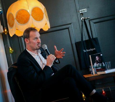 """NORGES FØRSTE """"TRUE CRIME""""?: «Bjørn Olav Jahrs bok hvem drepte Birgitte Tengs?» blir TV-dokumentar. Her under lanseringen av boken i 2015."""