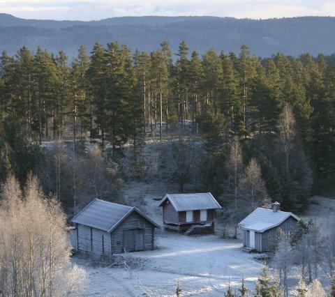 Løkka: En indyllisk liten plass mellom Kjennerudvannet og Aspesetra. foto: Mette Martinsen
