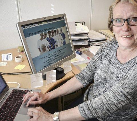 Får flere utdannelser: G. Wibeche Pettersen i Lofoten studie- og høyskolesenter.Foto: Karin P. Skarby