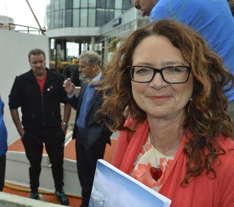 Utsatte: Saksordfører for meldingen om trålerpliktene, Ingrid Heggø (Ap), regner med at Stortinget behandler saken i neste uke.