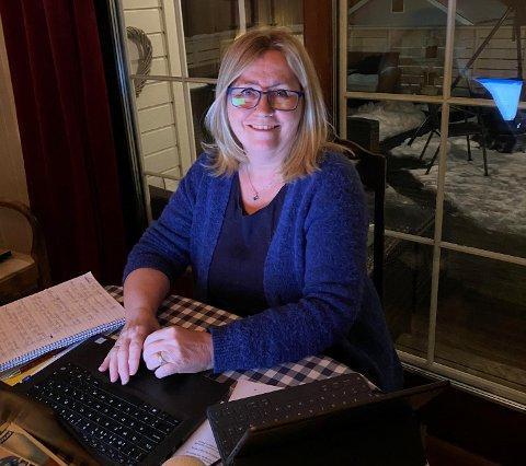 BEKYMRET:: Anne Kristine Linnestad (H) er bekymret for bar og unges psykiske helse under koronapandemien.