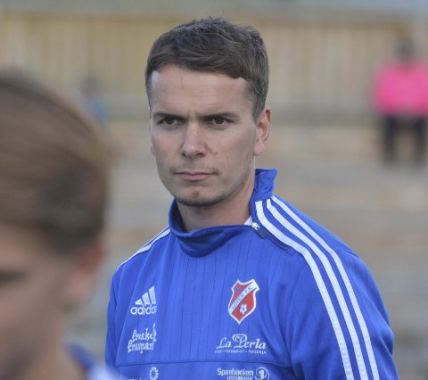 Tilskuer: Stein Erik Werven måtte se lagkameratene dra i land tre poeng i lokaloppgjøret mot Ottestad.