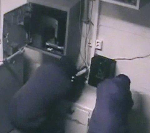 Tabbet seg ut: I Nittedal klarte tyvene verken å åpne safen eller å rive den med seg.