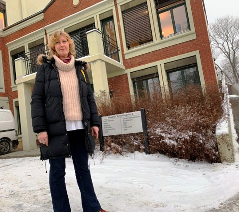 UTFORDRENDE: NHO-sjef Kristin Saga melder om utfordringer for bedriftene.