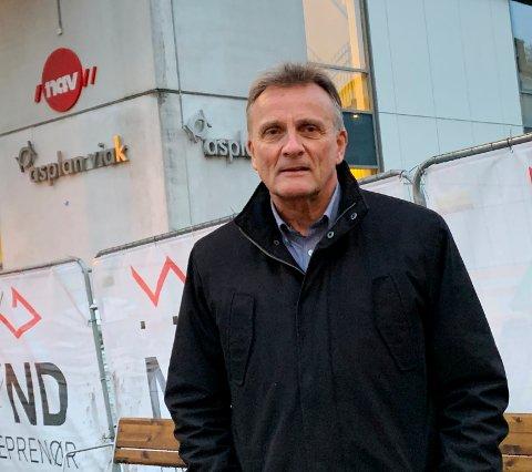 MULIGHETER: Nav-direktør Terje Tønnessen opplever fortsatt at det er høy ledighet, men gjør oppmerksom på det finnes muligheter i markedet.
