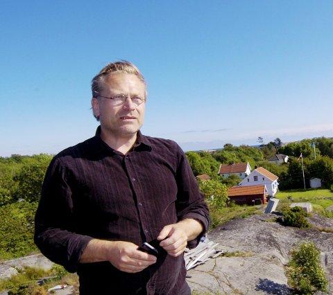 INGEN KOMMENTAR: Arkitekt Rune Breili vil ikke si noe om svaret fra Færder kommune nå.