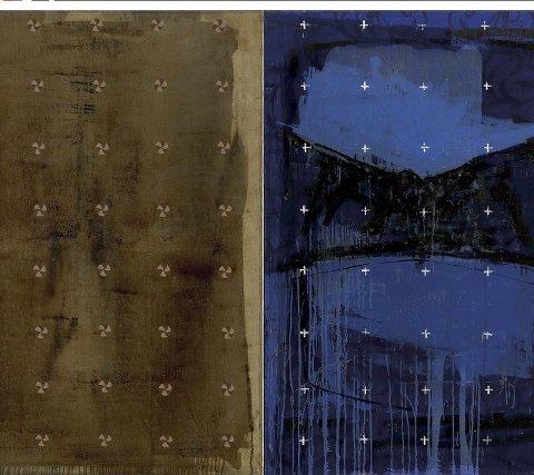 Kjell nupen: «Stille natt Hellige natt» er et av maleriene av Kjell Nupen som skal vies på utstillingen.