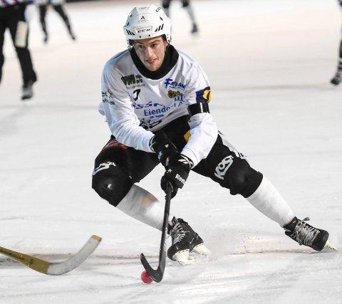VANT: Solberg og Sondre Kristoffersen slo Hamar 9-3 på hjemmebane.