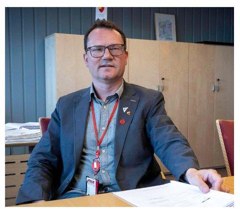 LETTET: oOdfører Jan Olsen kan lettet konstatere at det ikke er påvist koronasmitte i Nordkapp likevel