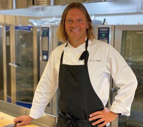 Kokk og virksomhetsleder i Fredrikstad kommune, Rønny Kløvfjell, utgjør sammen med Sebastian Engh og Ann Kristin Wang Oslo og Vikens nye matgledekorps.