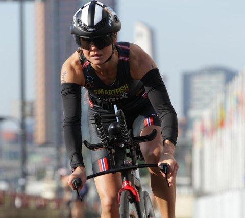 Triatlon-utøvcer Monica Wold er på full fart tilbake etter et langt skadeopphold.