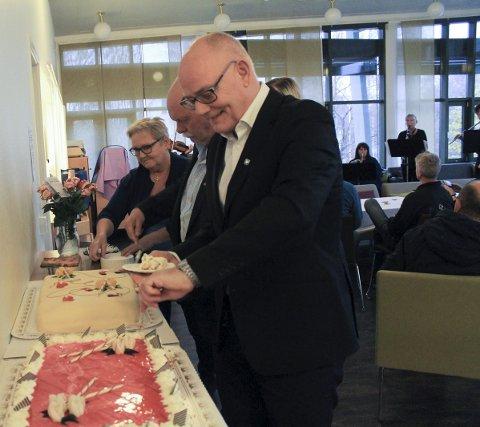 Pensjonist: Magne Pettersen Gleinar er ikke lenger rådmann i Vefsn kommune. Tirsdag begynner arvtakeren Erlend Eriksen.