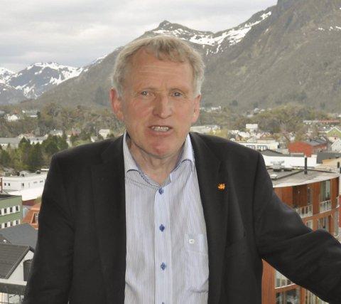Regionvegsjef Torbjørn Naimak.