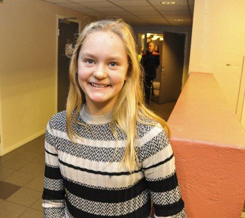 Mot: Emma Giske, 9D ved Leknes skole.