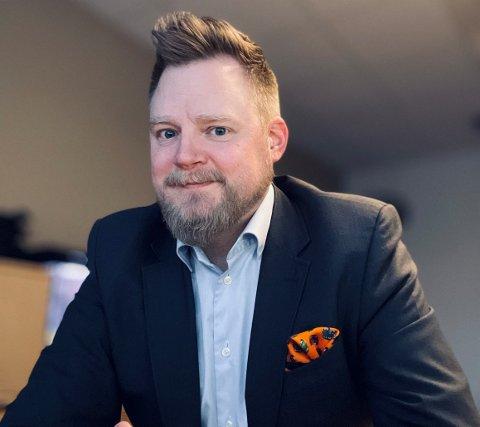 NY JOBB: Kristian Høines Mathisen har alltid vært interessert i eiendom.