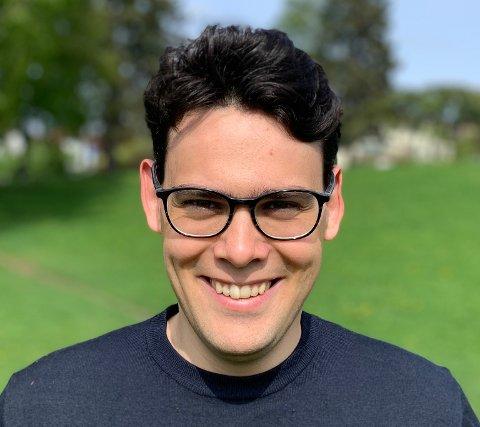 NY TOPPLEDER: Andreas Sandnes overtar som daglig leder i SalmoSea.