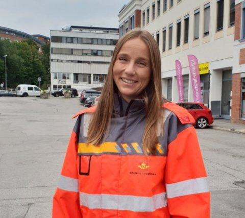 Therese Høy har lederansvaret for Statens Vegvesens Prosjekt Vestoppland.
