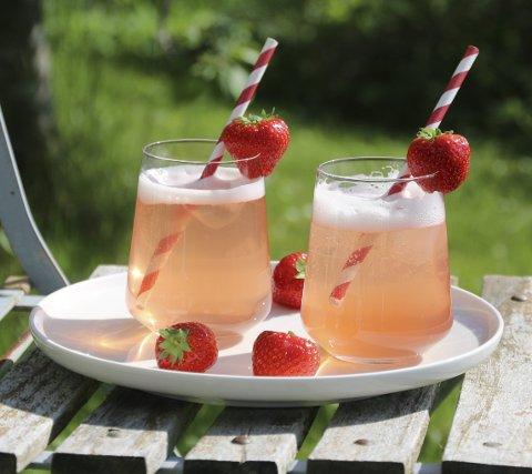 FRA BLOGGEN: – Nyt sommeren mens den er her, ta vare på alle de gode smakene og server dem så ofte du kan! FOTO: Trine Sandberg