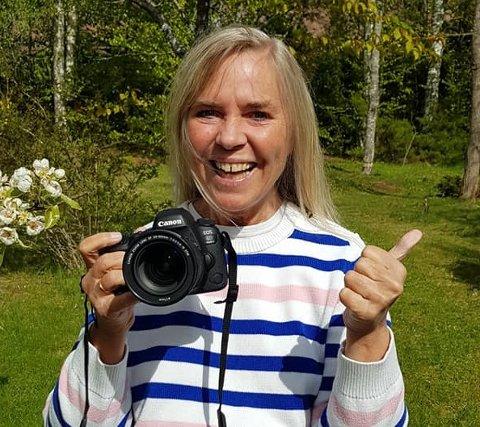 SENDER TAKK: Heidi Havre er overveldet over responsen fra venner etter at kameraet gikk dukken.