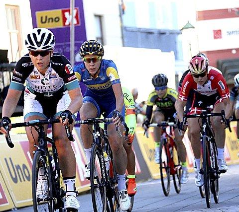 VERDENS BESTE: Lørdagens etappe av Ladies Tour of Norway starter i Mysen.