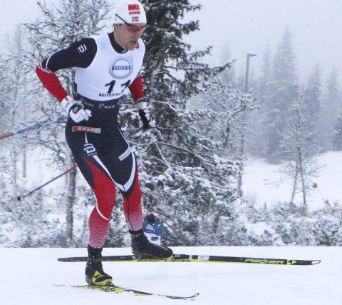 TIL KVARTEN: Sindre Odberg Palm gikk videre fra prologen, men ble slått ut i kvartfinalen på lørdagens sprint i fri teknikk.