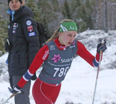 MEGET STERKT: Ingvild Wollebek, Ås, var av de beste i norgescupstarten. FOTO: ERIK BORG