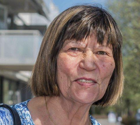 Irja Granli: - Skal du kjøpe er prisene altfor høye. Selv vi som har hus å selge har ikke råd å kjøpe leilighet i sentrum.