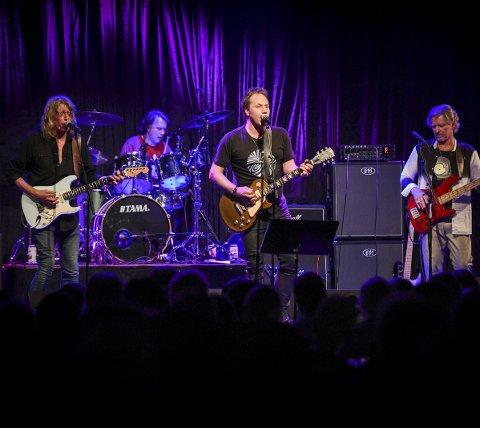Aunt Mary hadde konsert på Båthusets Scene. Bjørn «Krisa» Kristiansansen er den siste originale medlemet i bandet som har vært med fra starten.