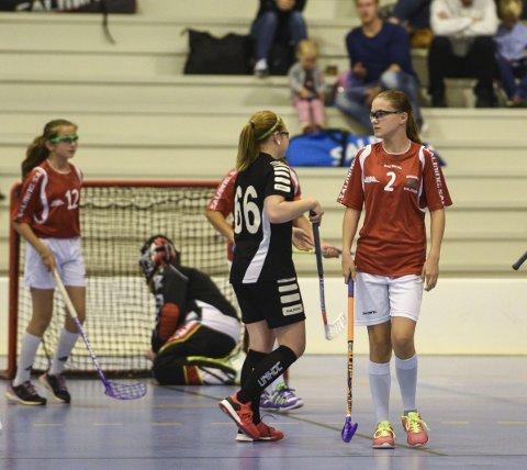 Braktap: Greåker J14 fikk det tøft mot svenske Hagfors og tapte 0-14.