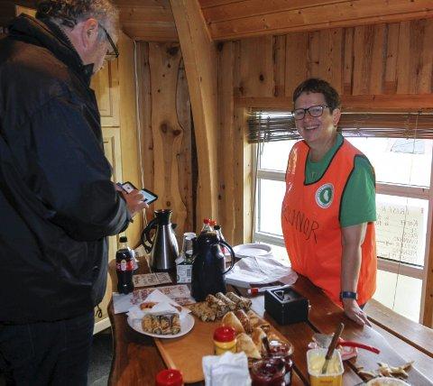 Lokal arrangør Karen Elise Dahlmo hadde en tgravel dag inne på Køto på Kippermoen.