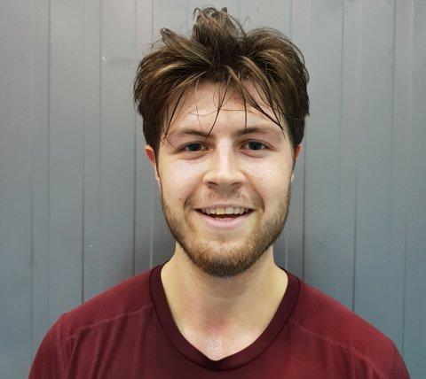 STORM-KLAR: Lasse Gjellestad kommer fra Gimle Basket i Bergen til Tromsø Storm.