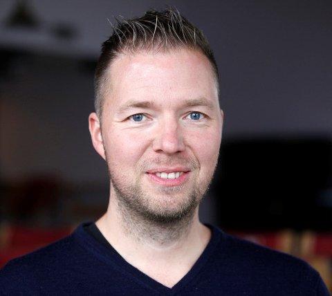 NY SJEF: Geir Tore Olsen er ansatt som daglig leder i Namdal Rensefisk.