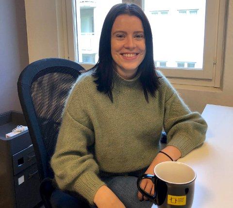 PROSJEKTLEDER: Julie Haatuft fra Larvik er prosjektleder for den nasjonale Vold og overgrepslinjen – en anonym og døgnåpen hjelpelinje for voldsutsatte.
