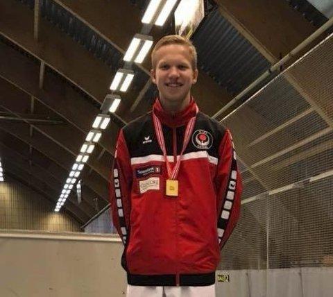 VUNNET: Unge Nikolai Kråkstad har vunnet i alle stevnene han har deltatt i, blant annet VM.