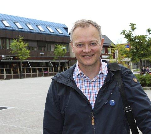 Ordførerkandidat for Vefsn Høyre, Jørn Clausen.