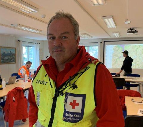 IMPONERT: Ove Fortun leiar Luster hjelpekorps, og er imponert over innsatsen til dei som var med på redningsaksjonen.