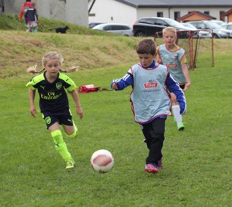Det blir fotballskole både for barn og ungdommer i Småtrolluka 2018.