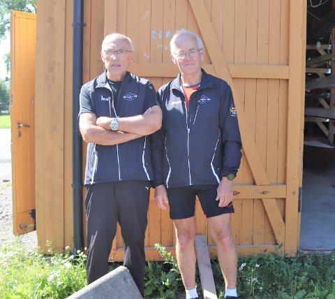 VENTER  SPENT: Per Arnfinn Andersen (t.v) og Thorleif Høyer er spente på møte de skal ha med kommunen i september
