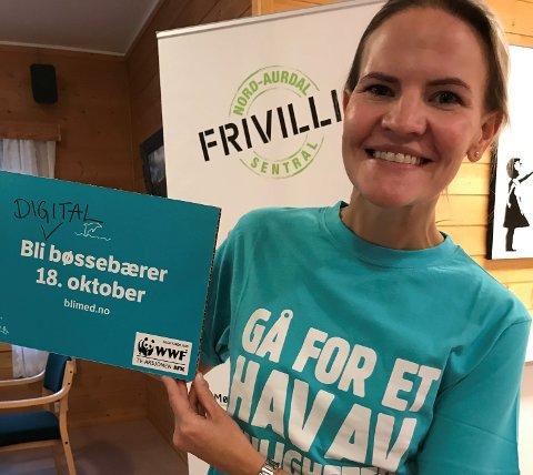 HAV AV MULIGHETER: Marta Bjørnøy Lalim håper mange ønsker å bli digitale bøssebærere for årets TV-aksjon.
