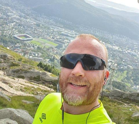 Bergen: Bjørn Leirhol fra Fagernes, jobber nå som inspektør og avdelingsleder i på en ungdomsskole i Bergen.