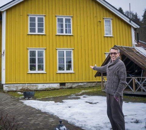 Gammel storhet: Bengt Thuv har gledet seg til å hilse nye og gamle gjester velkomne til et måltid på Bæk Gaard. alle foto: Åsmund Austenå Løvdal