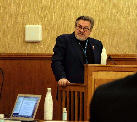 Stig Kjærvik, kommunedirektør i Nordkapp kommune.