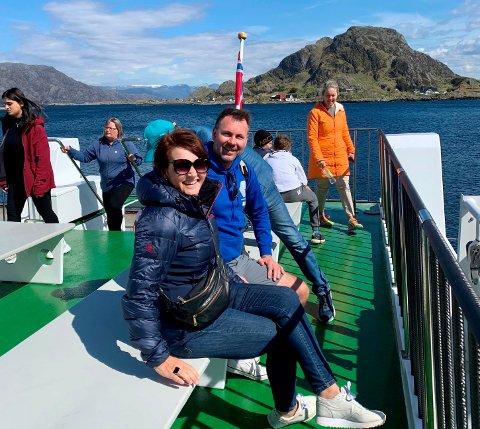 CRUISE i FLORØ-SKJERGARDEN: Pilegrimscruiset til Svanøy og Kinn var eitt av dei nye turisttilboda i år som løfta reiselivet i Florø.