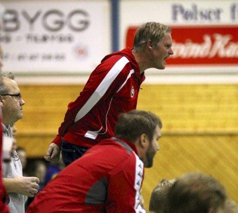 RAKNET: Erik Hæren var skuffet etter at det raknet totalt for hans menn mot Sveiva lørdag.