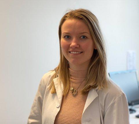 FASTLEGE: Katrine Børseth startet på Torvet legesenter i august 2019.
