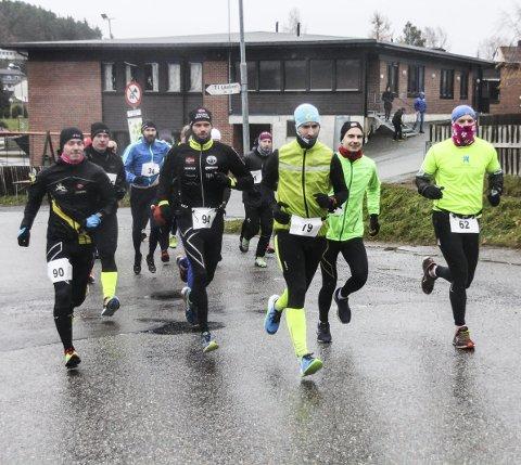 TÆFF GJENG: Halden ultraintervall skulle vise seg å være en prøvelse i vinterværet. Alle foto: Joachim Constantin Høyer