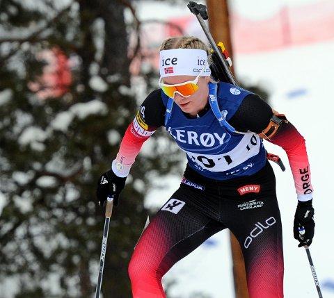 Ragnhild Femsteinevik beviste i skiskyttarrennet på Voss at ho er på rett kurs etter ein litt tung start på sesongen.