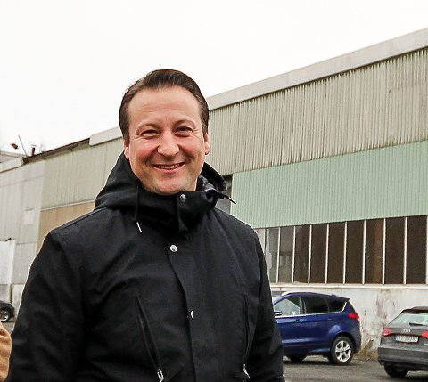 HÅPER: Nils Fredrik Jegersberg i Jeto Eiendom håper på positiv respons i Moss kommune for å kunne sette opp et bygg høyere enn det dagens reguleringsbestemmelser tilsier.